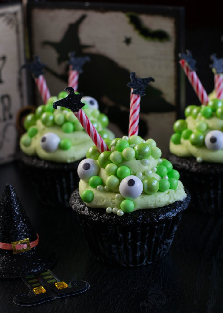 Cauldron Cupcakes 2