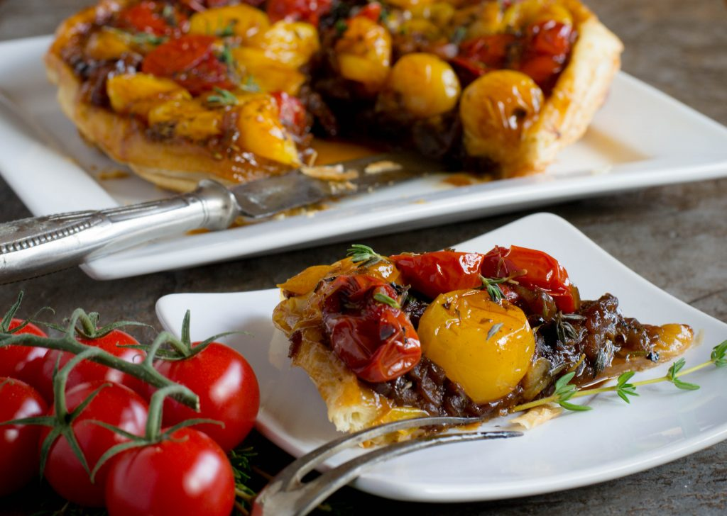 Upside Down Tomato Tart 11