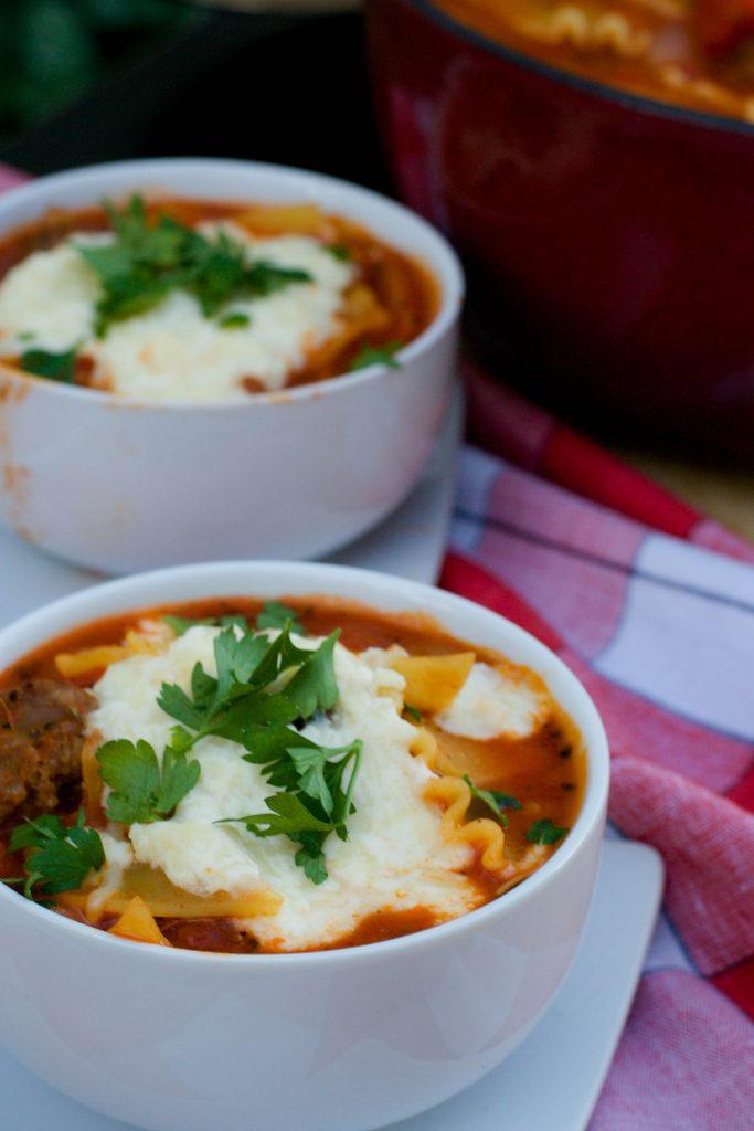 Sausage Lasagna Soup 2