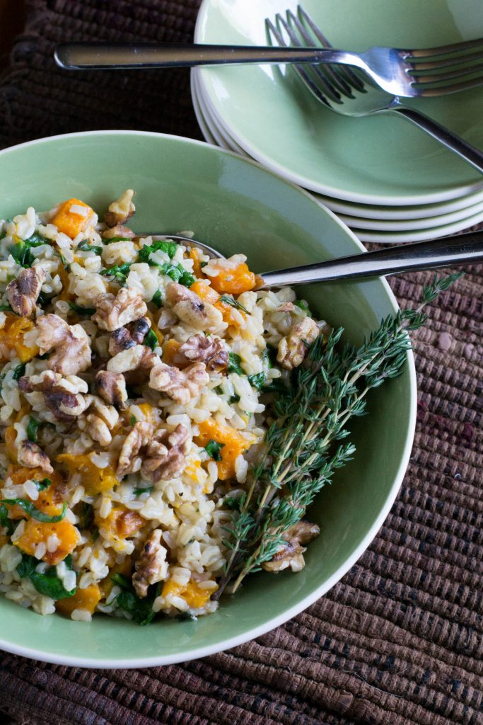 Butternut Squash Brown Rice