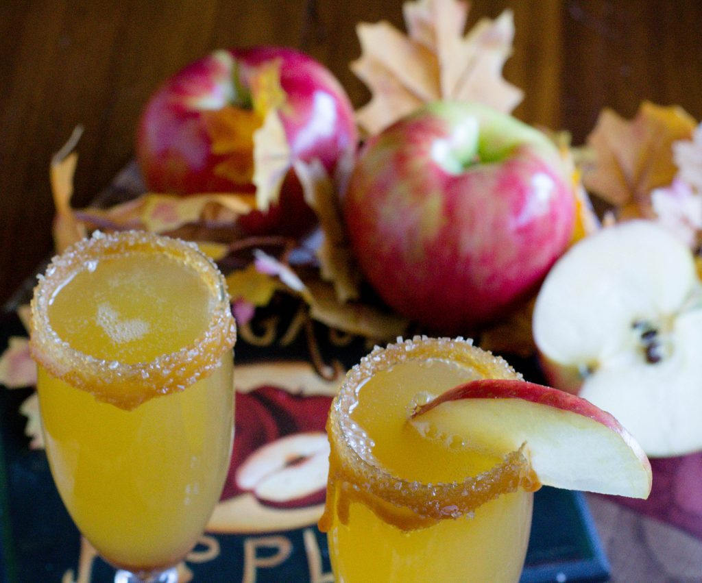 Alcohol Free Caramel Apple Mimosa 2