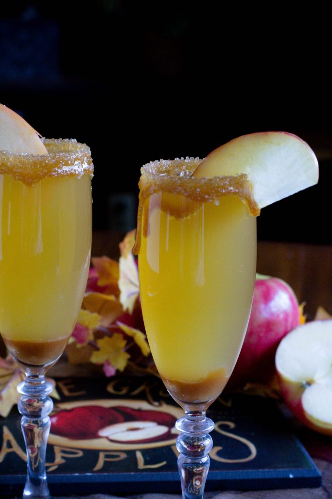 Alcohol Free Caramel Apple Mimosa 3