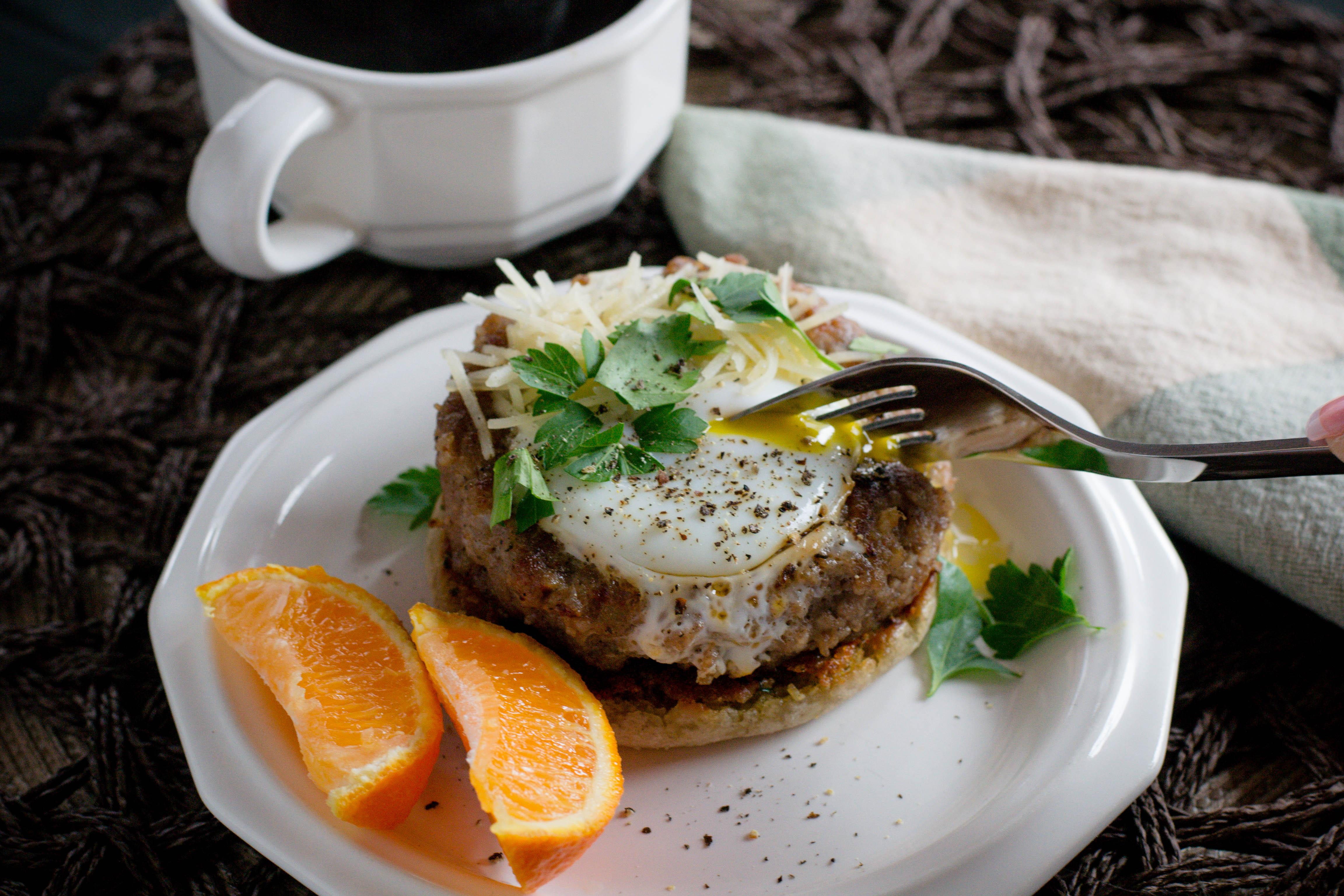Breakfast Egg in a Hole