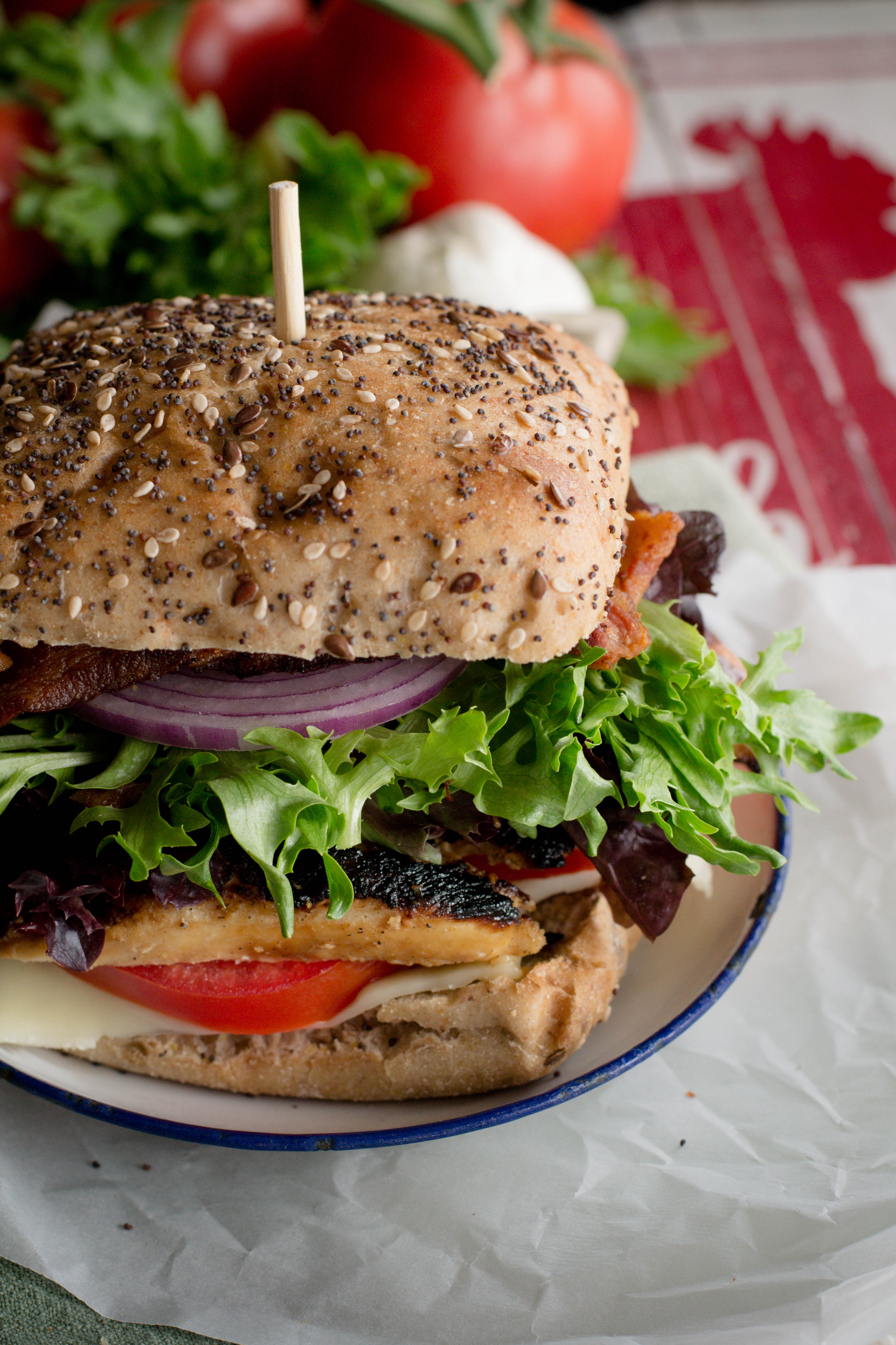 Mojo Grilled Chicken Club Sandwich