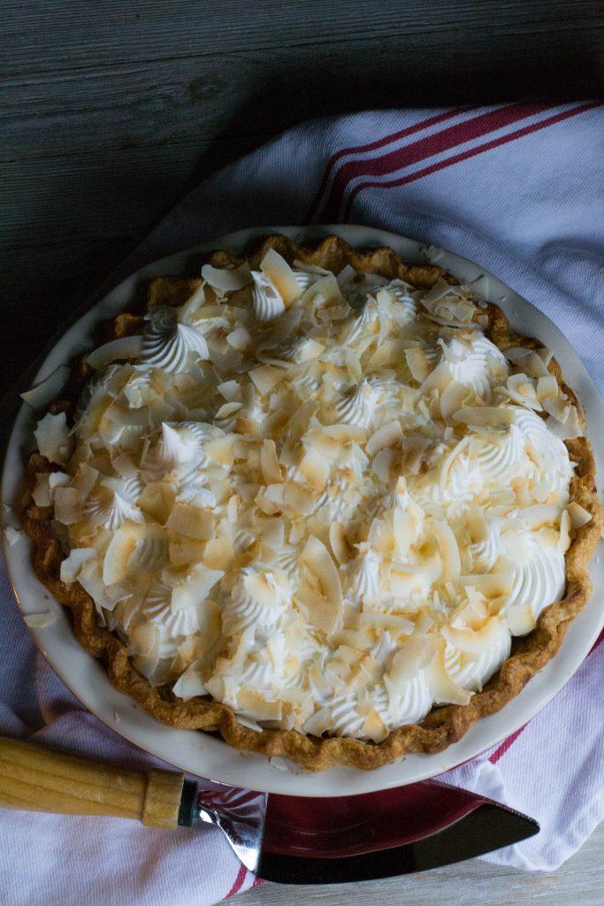 Homemade Coconut Cream Pie