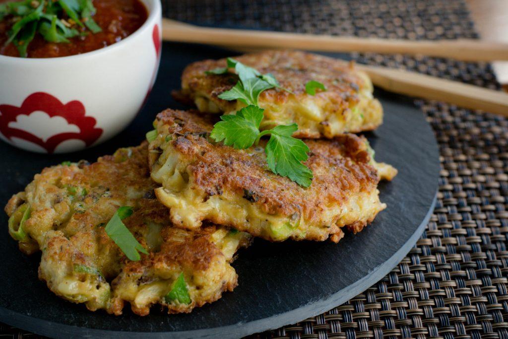 Roasted Cauliflower Croquettes
