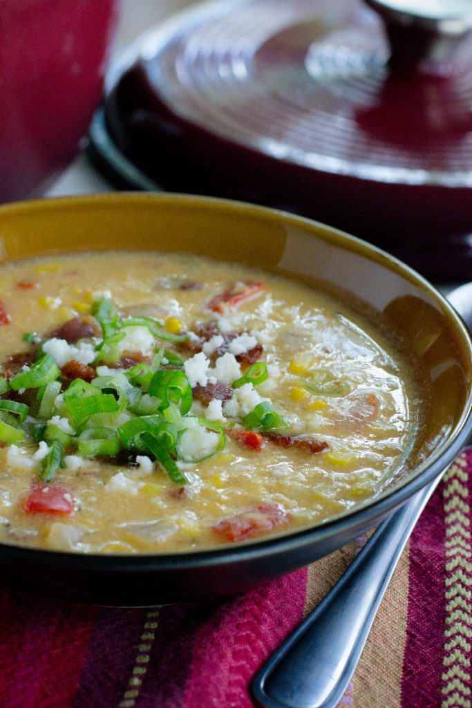 Spicy Sweet Corn Chowder