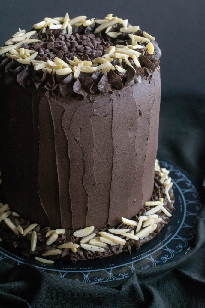 Best Ever Dark Chocolate Cake