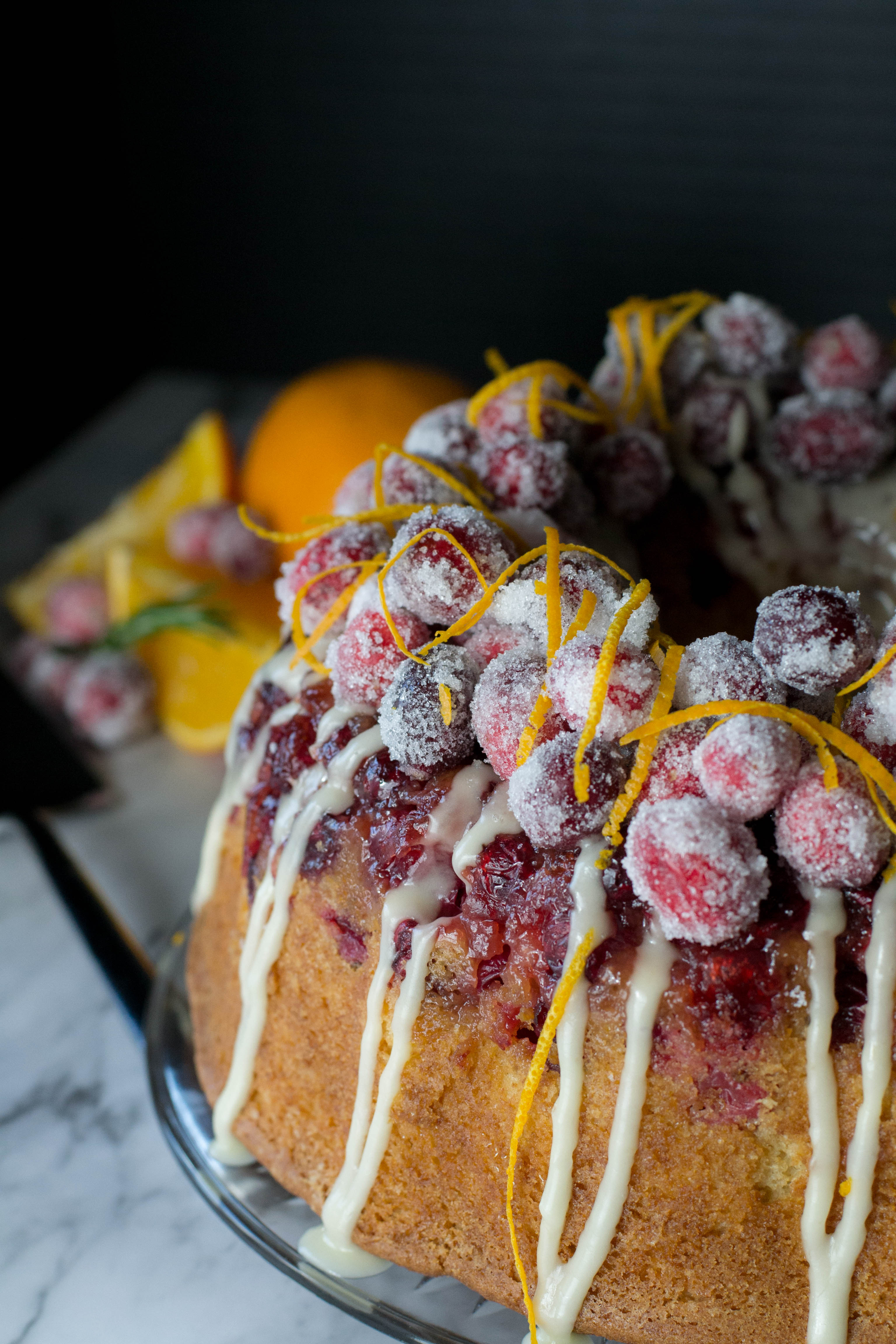 Cranberry Orange Bundt Cake What The Forks For Dinner