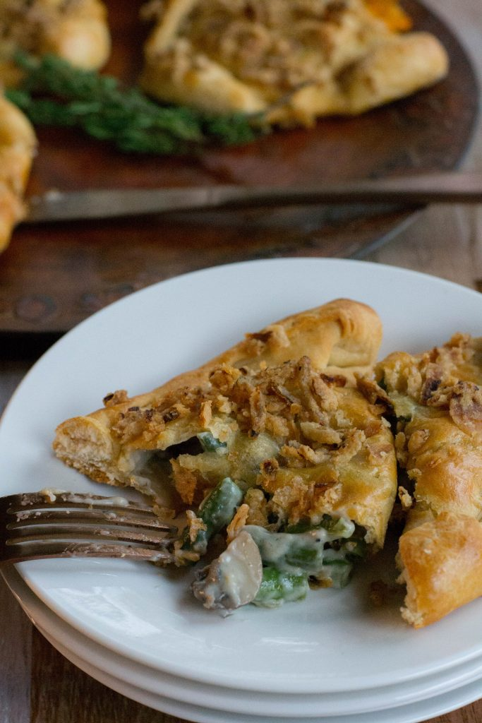 Green Bean Casserole Turnovers
