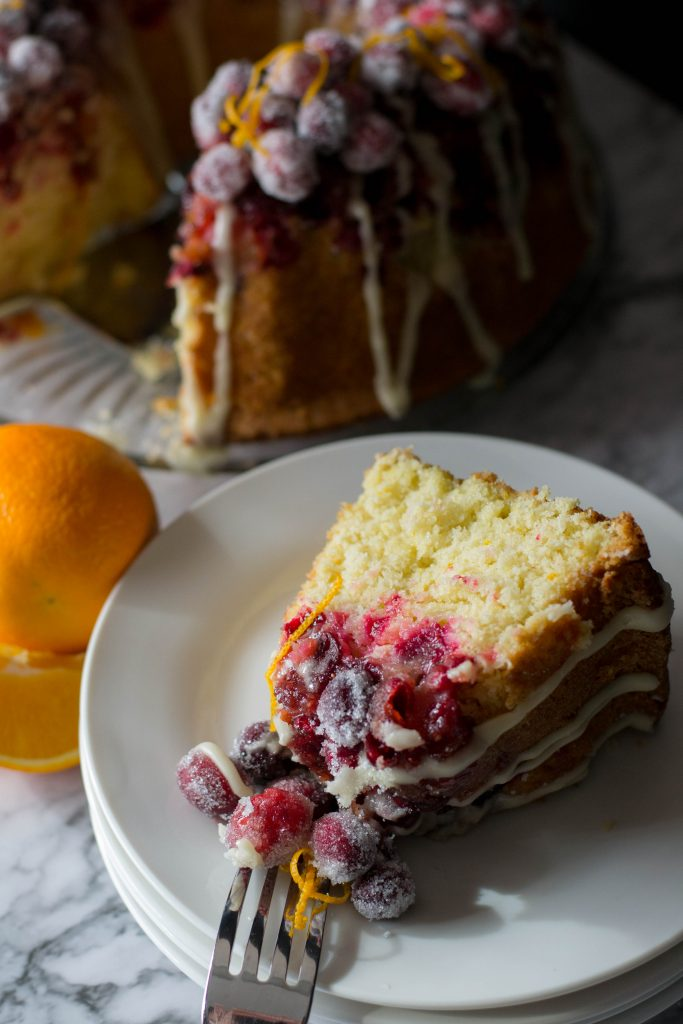 Cranberry Orange Bundt Cake