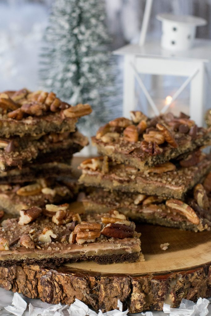 Turtle Pecan Graham Cracker Crack