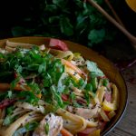 Asian Chicken Peanut Noodles