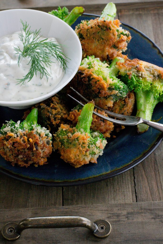 Dippin Crunchy Broccoli Bites