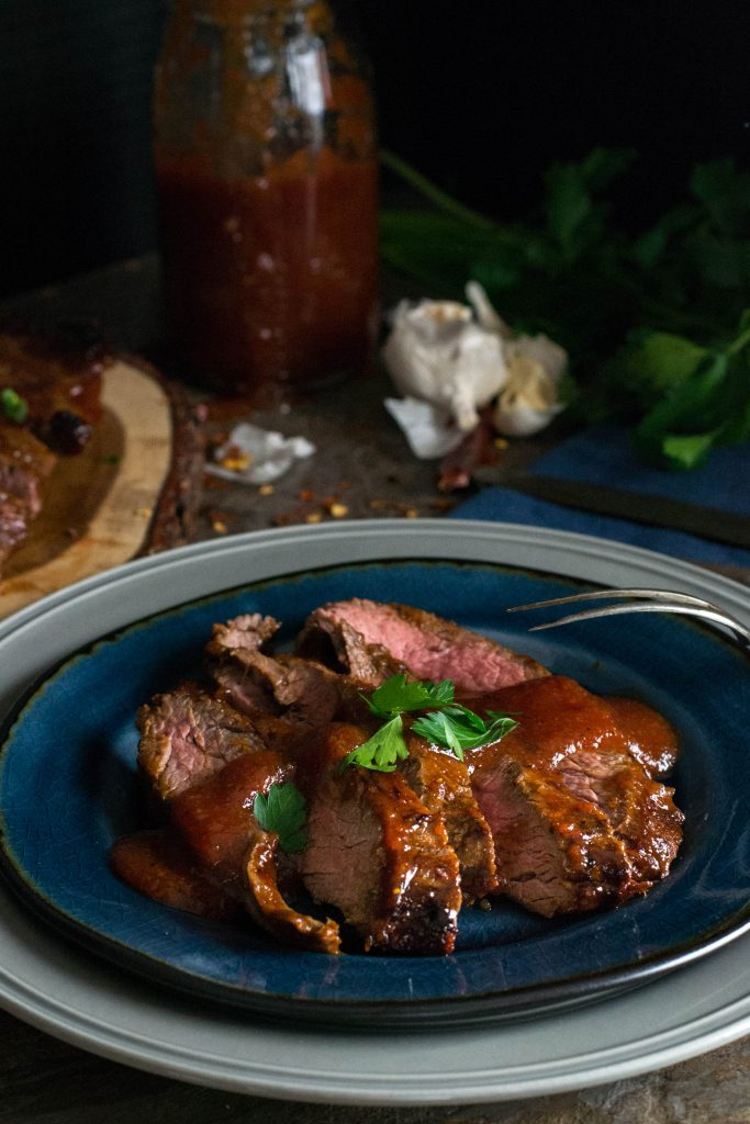 Sweet Spicy BBQ Flank Steak