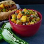 Fresh Pineapple Ginger Salsa