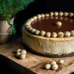 Espresso Cheesecake with Chocolate Glaze