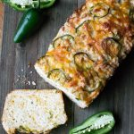Cheesy Jalapeño Quick Bread