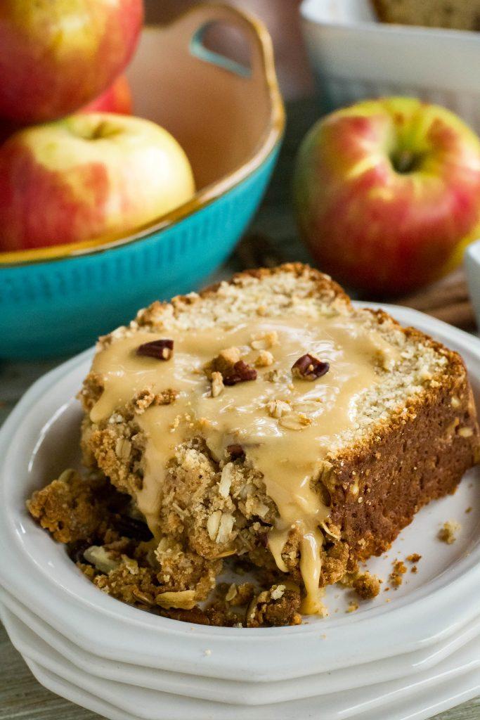 Apple Crisp Quick Bread