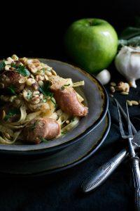 Instant Pot Apple Chicken Sausage