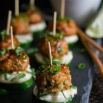 Pacific Rim Chicken Meatballs