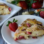 Fresh Strawberry Ricotta Scones-4