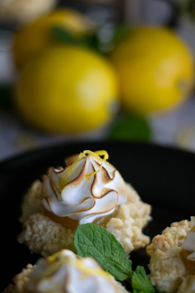 Lemon Meringue Thumbprint Cookies