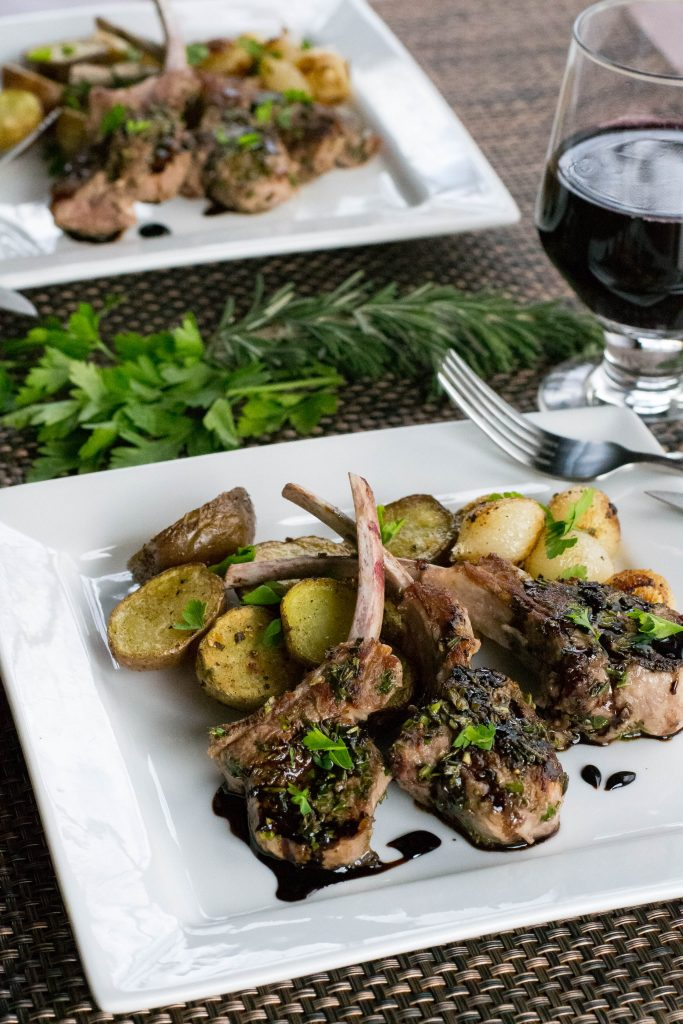 Quick Easy Lamb Chops For Two
