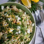 Spring Shrimp Asparagus Salad