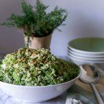 Broccoli Chicken Farro Salad