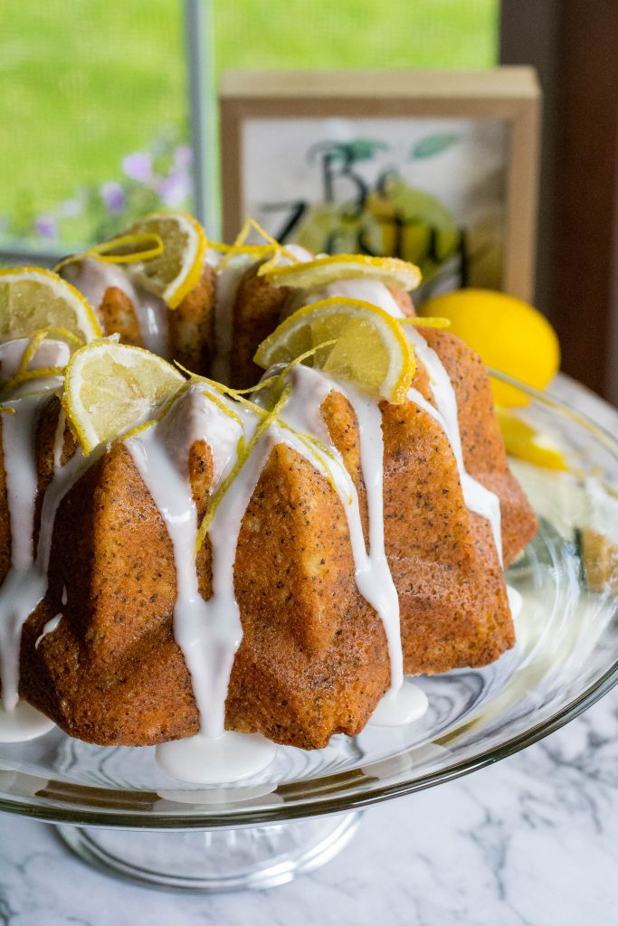 Zesty Lemon Poppyseed Bundt Cake