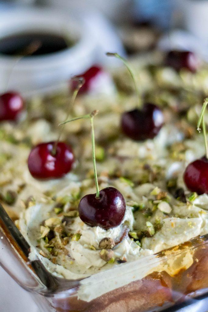 Cherry Pistachio Sweet Rolls