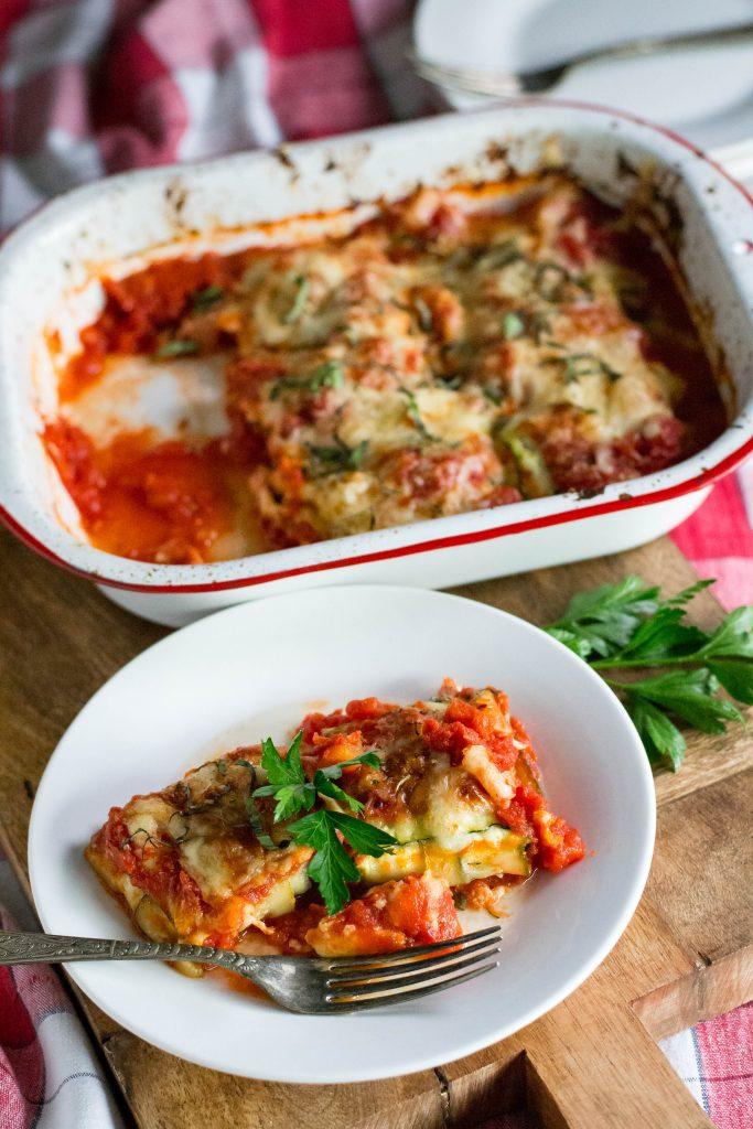 Baked Zucchini Ravioli