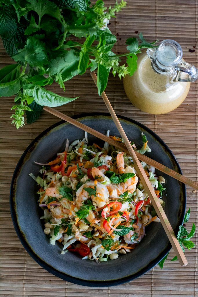 Vietnamese Shrimp Salad