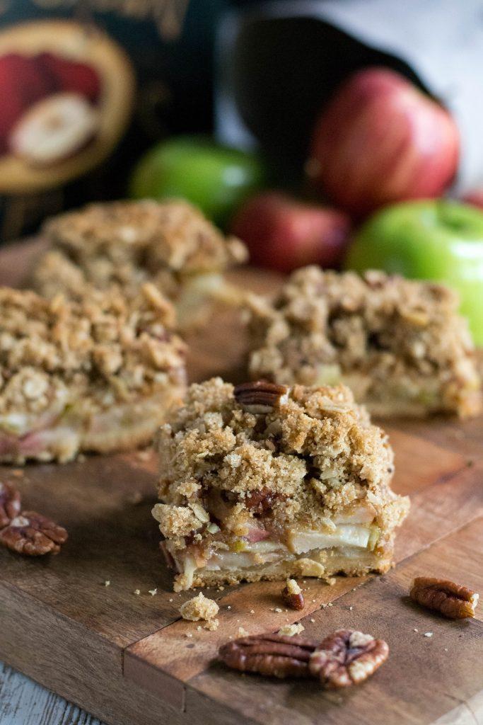 Pecan Apple Crisp Bars