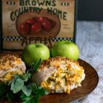 Apple Cheddar Stuffed Chicken Breast