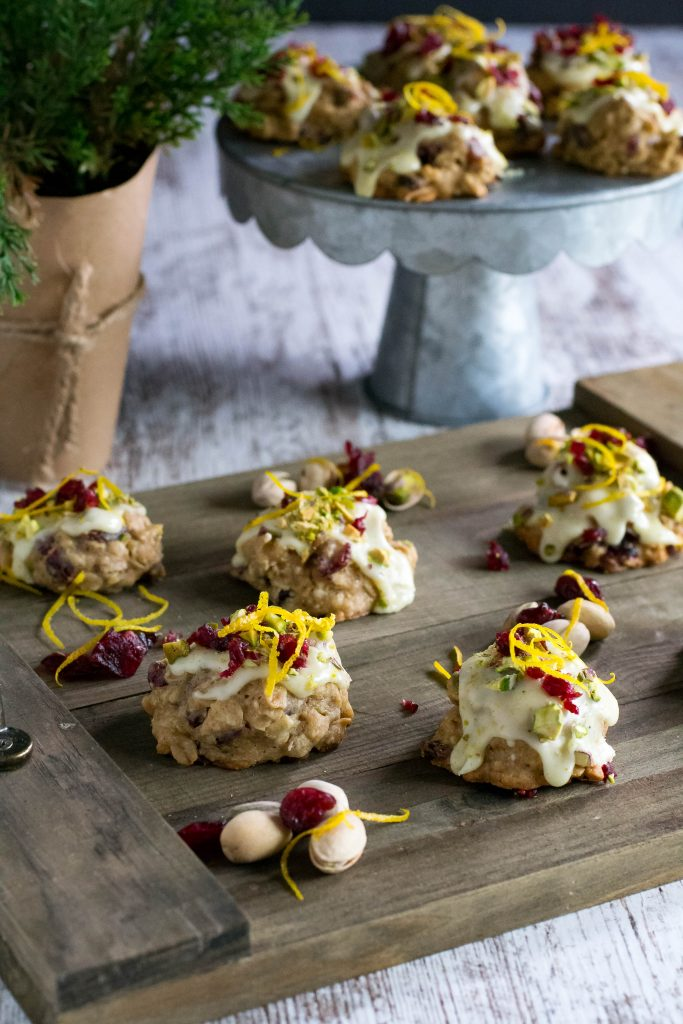 Cranberry Pistachio Orange Cookie
