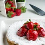 White Chocolate Flourless Cake