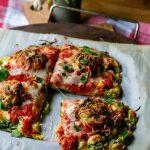 Zucchini Meatball Pizza