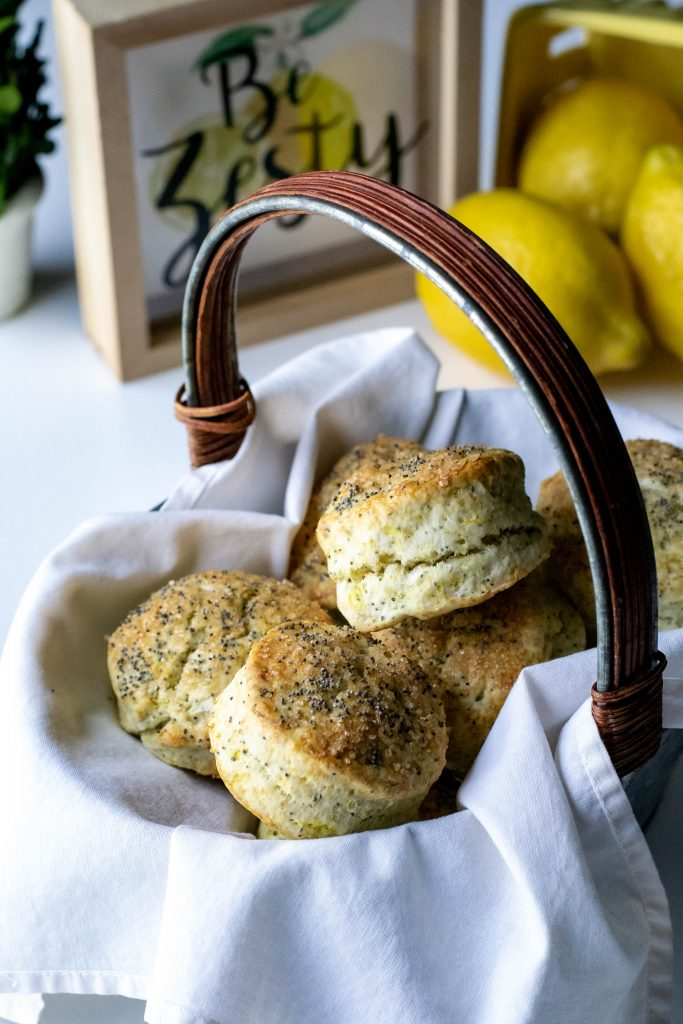 Lemon Poppyseed Biscuits