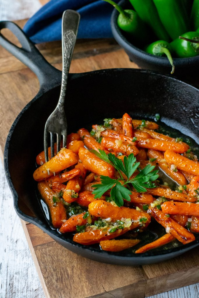 Roasted Honey Glazed Carrots
