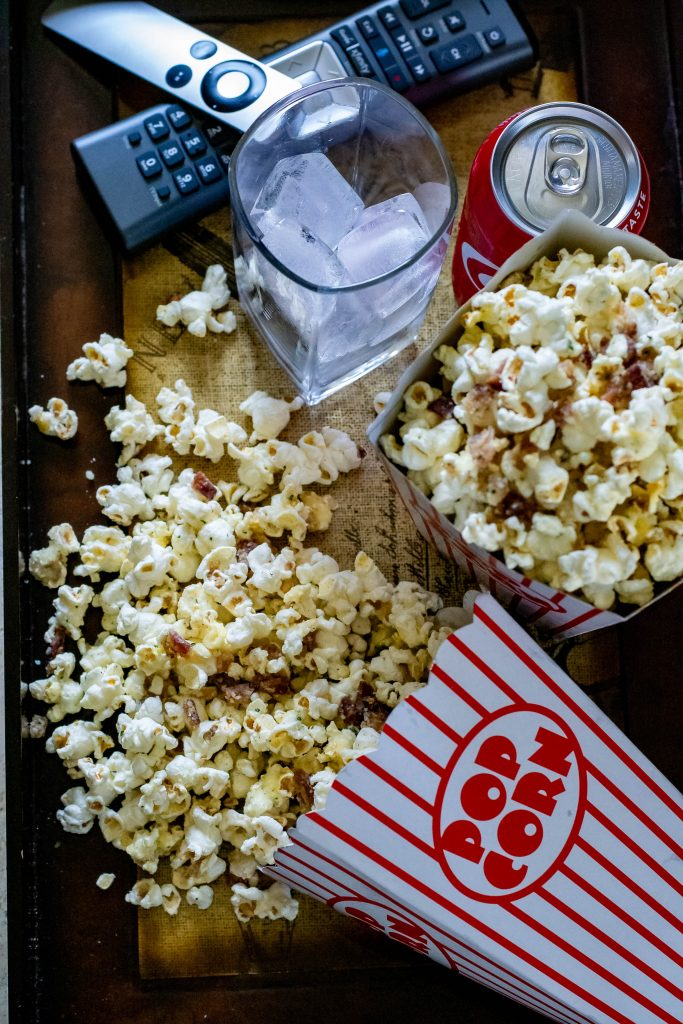 Parmesan Bacon Ranch Popcorn