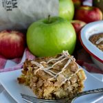 Caramel Apple Pecan Blondies
