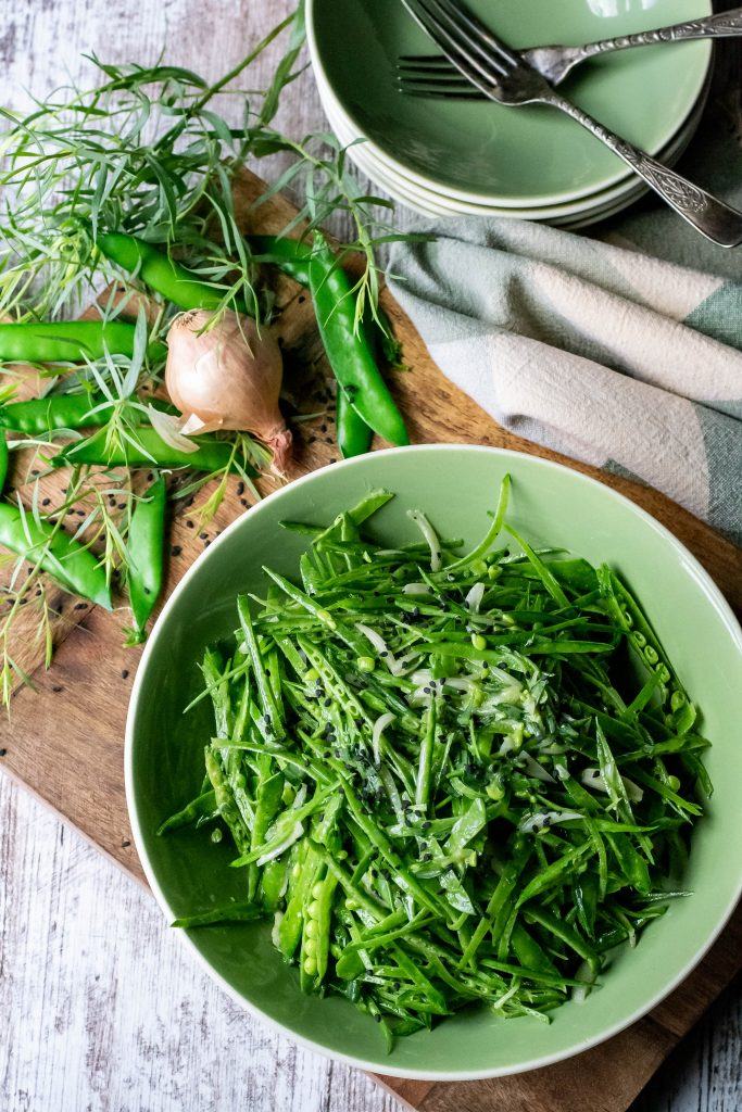 Fresh French Snow Pea Salad