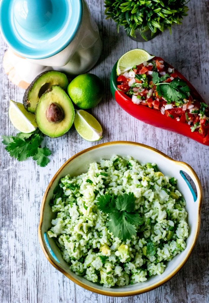 Quick Easy Avocado Rice