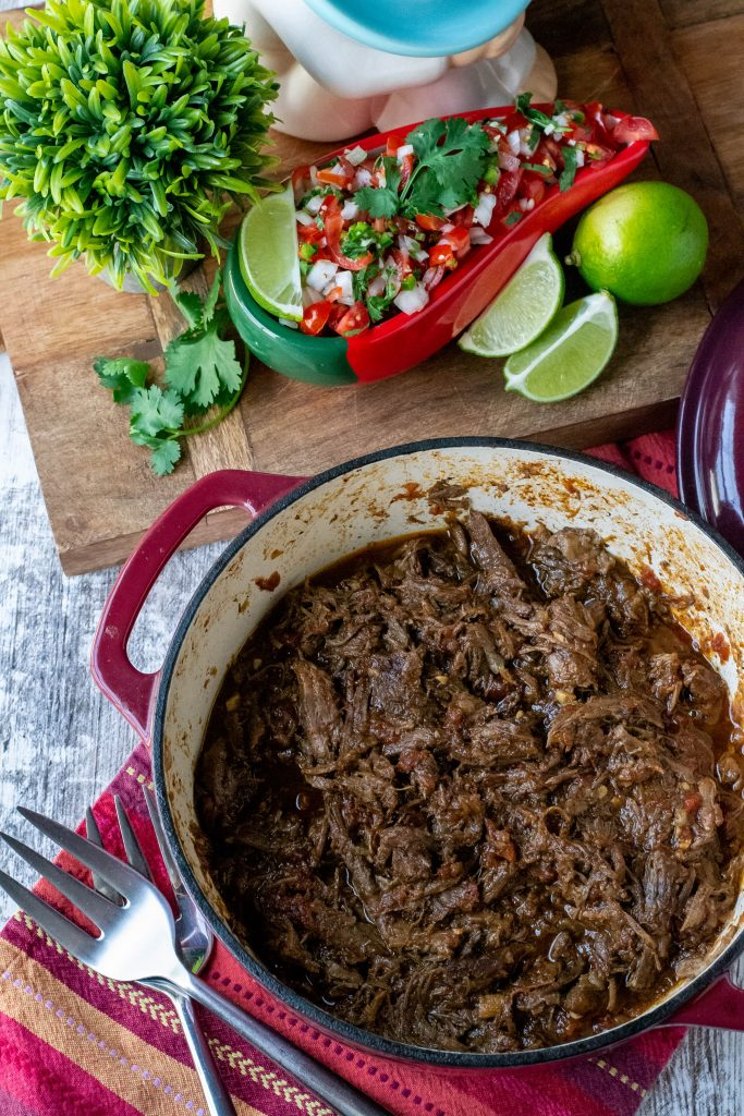 Shredded All-Purpose Mexican Beef