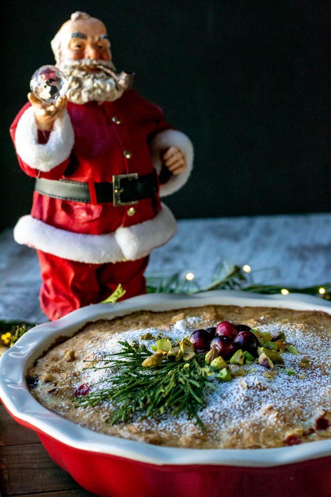 Cranberry Pistachio Pie