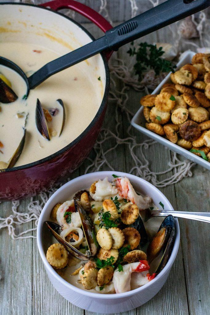Mixed Seafood Chowder